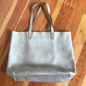 Madewell transport tote in taupe